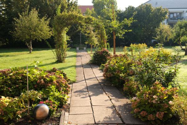 Vinzenzkolleg-Gartenweg