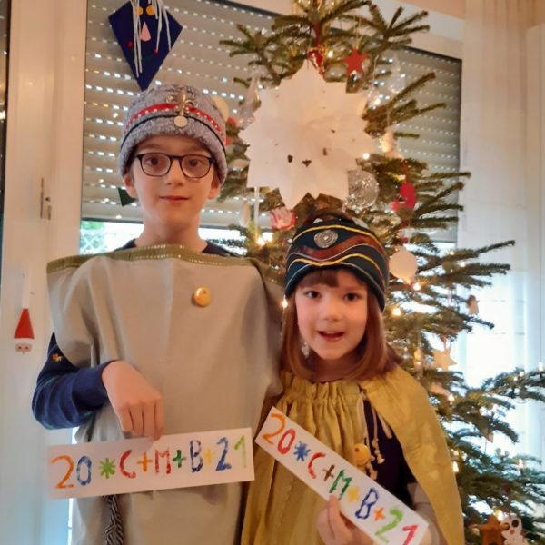 Jonathan (7) und Amelie (5)